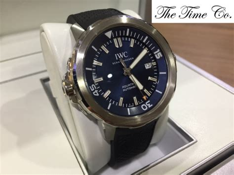 Expedition E6722 Black Plat Blue Rubber Black For Original sold iwc aquatimer expedition jacques yves cousteau iw3290 05 the time co