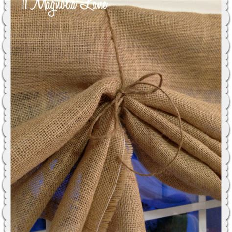 sewing burlap curtains how to make a no sew diy burlap window valances sewing diy
