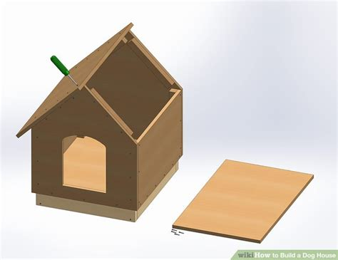 how to build a dog house step by step instructions how to build a dog house with pictures wikihow