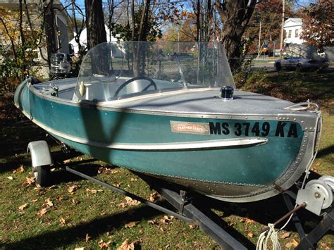 aluminum runabout boat for sale feather craft ranger 1957 for sale for 1 200 boats from