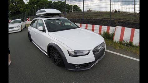 Jetbag Audi A4 audi a4 allroad with jetbag b8 white colour rotiform