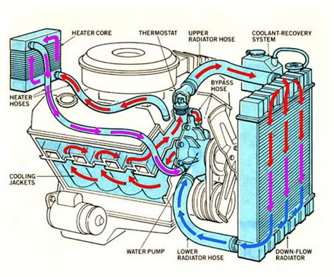Interior Design For Dummies how your cooling system works flowkooler hi flow water pumps