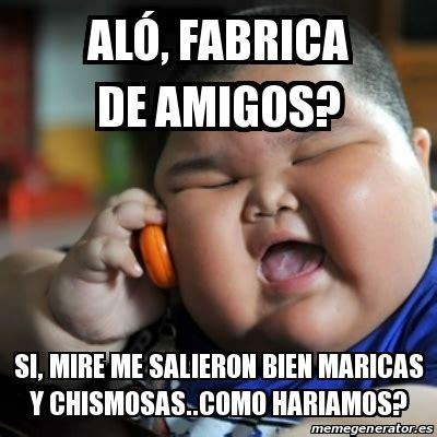 Memes Generator En Espaã Ol - meme fat chinese kid al 243 fabrica de amigos si mire me