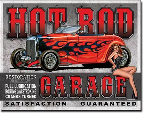 garage metal signs rod garage tin sign garage tin signs vintage retro