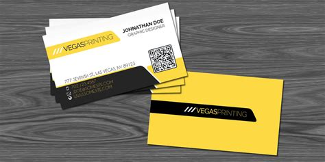 Business Card Template For Printing Press by Free Qr Code Photoshop Business Card Template Vegas Printing