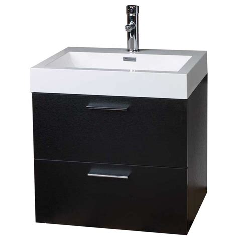 modern bathroom vanity wall mount black tn t580 bk on