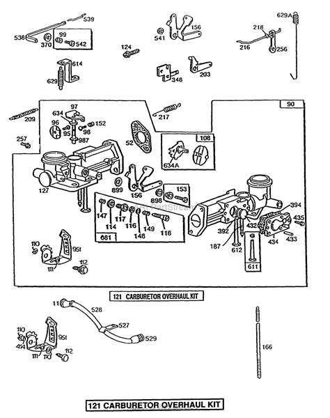 briggs and stratton carburetor parts diagram briggs and stratton 080232 1883 01 parts diagram for