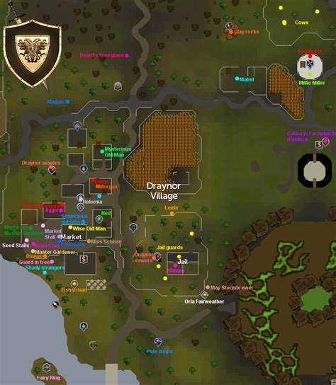 old school runescape ogres old school runescape ogres location draynor village map