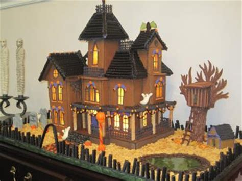 justine s halloween haunted gingerbread houses