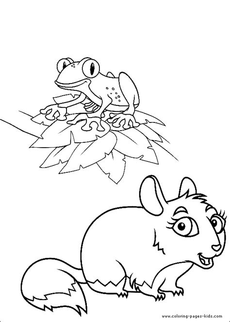 Go Diego Go Color Page Coloring Pages For Kids Go Coloring Pages