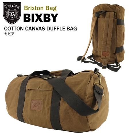backpack duffel bag amb rakuten global market brixton bixby cotton canvas