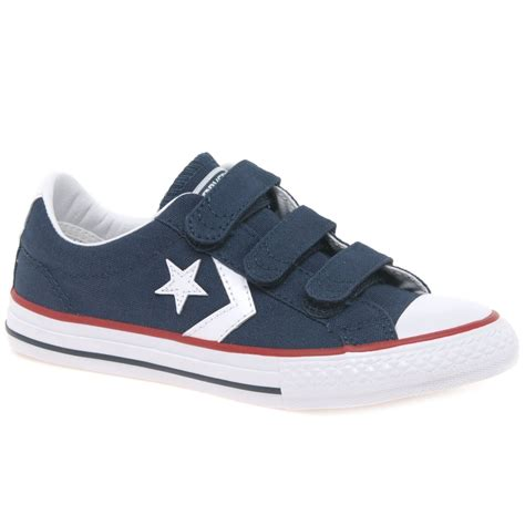 converse player 3v junior boys trainers charles