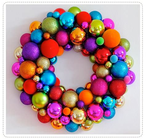 colorful wreath wreaths pinterest