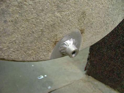 aluminum pontoon drain plugs want to install weld in pontoon plugs pontoon forum