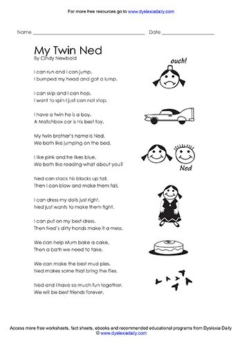 Dyslexia Spelling Worksheets by All Worksheets 187 Dyslexia Spelling Worksheets Printable