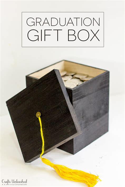 diy gift box diy graduation gift box tutorial crafts unleashed