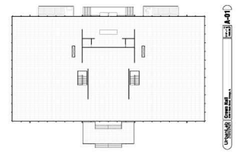 crown hall floor plan chicago crowns and van on pinterest