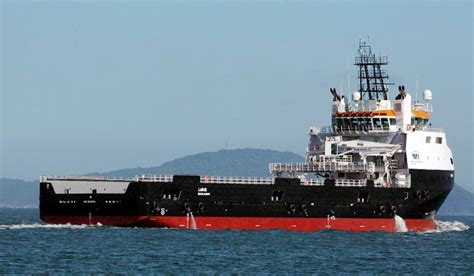 platform supply vessel damen psv delivered to wilson sons ultratug offshore