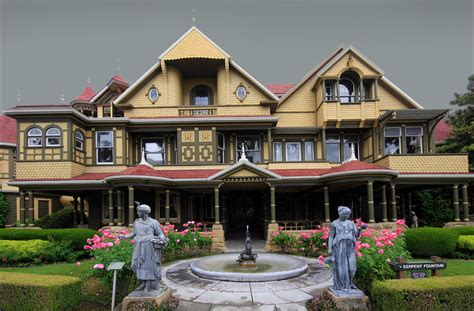 Winchester Mystery House This House Has Over 160 Different Rooms And Is Still