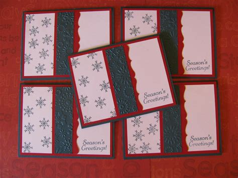design idea cards hand sted christmas cards karen s cards ideas