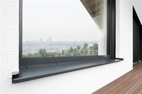Fensterbank Alu Anthrazit by Aluminium Eder