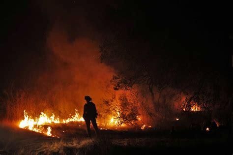 calistoga firefighters  front  snuff  spread