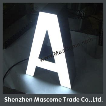 how to make a light box sign led letters to make signs 3d light box letter sign light