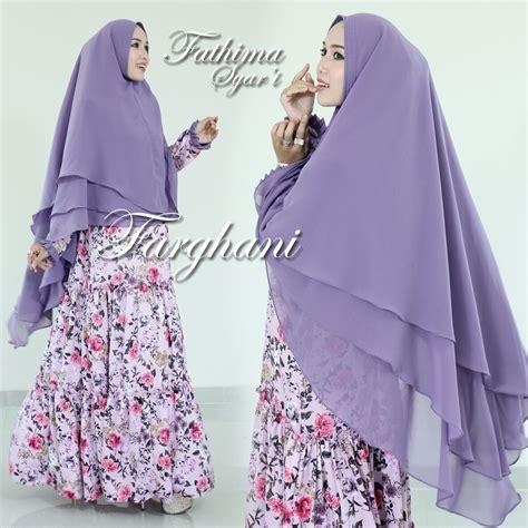 Syari Fatimah fatimah syar i by farghani baju muslim anak perempuan