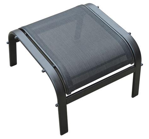 Garden Outdoor Sun Lounger Textilene Furniture Set With