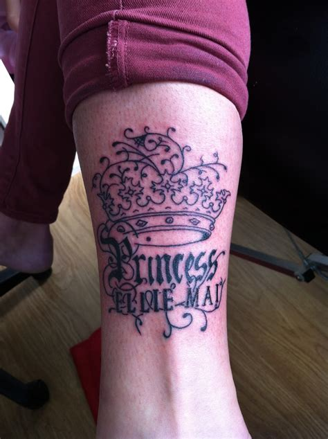 princess tattoo princess crown tattoos