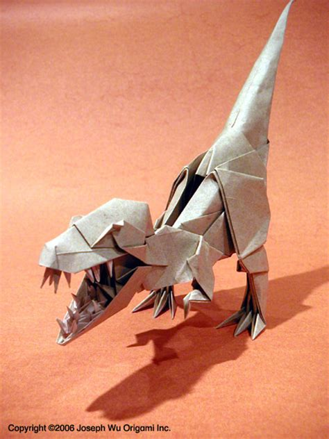 Origami T Rex - 1000 images about dino origami on