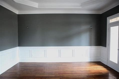 Dining Room White Moulding White Wall Moulding Decorating House