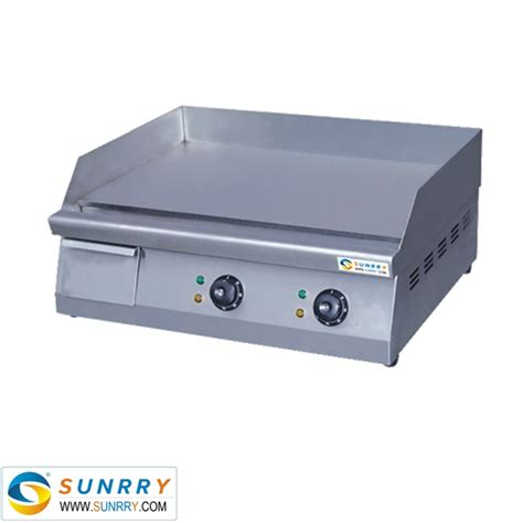 electric induction griddle commercial induction griddle with flat bbq plate griddle and grill stove sy gr270d sunrry