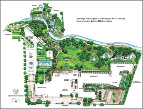hotel design layout and landscaping vineyard hotel spa gerbera org