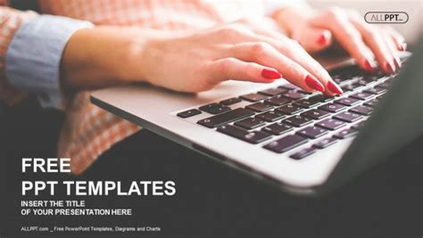 powerpoint templates for computer presentation free computers powerpoint template design