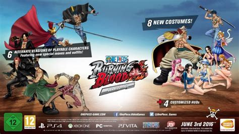themes ps4 one piece one piece burning blood s digital pre order bonuses