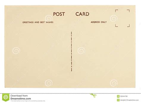 post card template event background blank postcard royalty free stock images image 35044769
