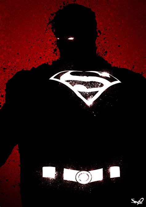 shadow of superman by sno2 on deviantart