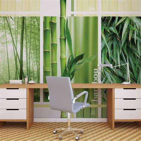 bamboo forest wall mural bamboo forest nature wall paper mural buy at europosters