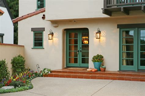 Spanish Revival Colors | spanish revival restoration mediterranean exterior