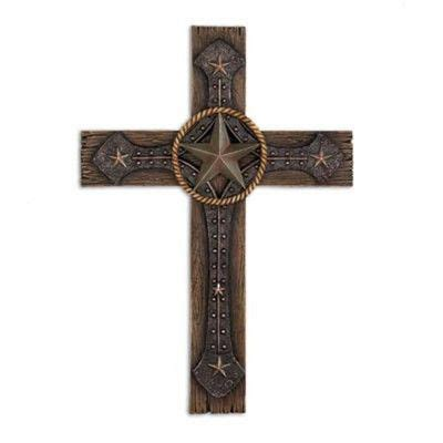 country crosses home decor religious home wall country western decor polyresin rustic