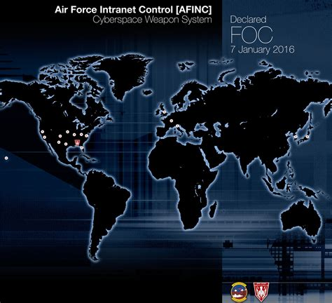 all systems cyber war books us air says cyberspace weapon system fully