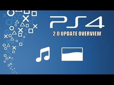 ps4 themes from usb ps4 2 0 update overview usb music player themes youtube