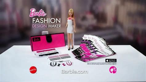 barbie fashion design maker doll review barbie fashion design maker doll tv spot a world of