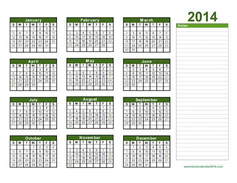 editable calendar 2014 template yearly calendar 2014 printable calendar 2014 blank
