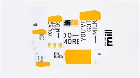 Milk Design Jeddah | milk design studio identity on behance