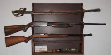 diy wall mount gun rack plans woodideas