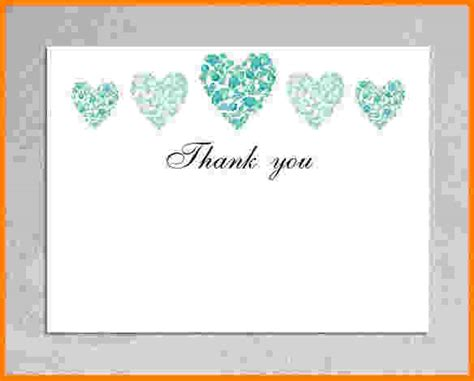 Thank You Card Template With Tree by Thank You Cards Template Gallery Template Design Ideas
