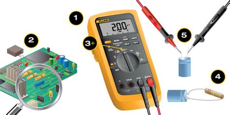 how to check bad capacitors with analog multimeter how to measure capacitance with a digital multimeter