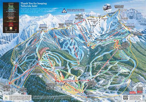 map of colorado ski resorts telluride skimap org